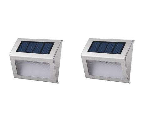 Комплект 2 соларни аплика за стена Wally