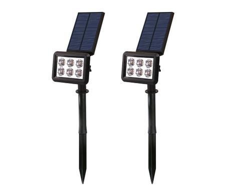 Set 2 solarnih svetilk Squary