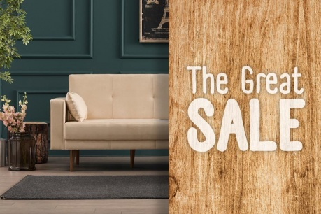 The Great Sale: Design in linii moderne