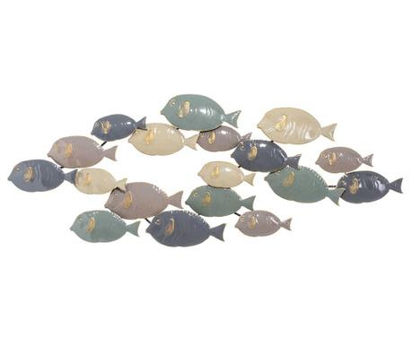 Fish Life Fali dekoráció