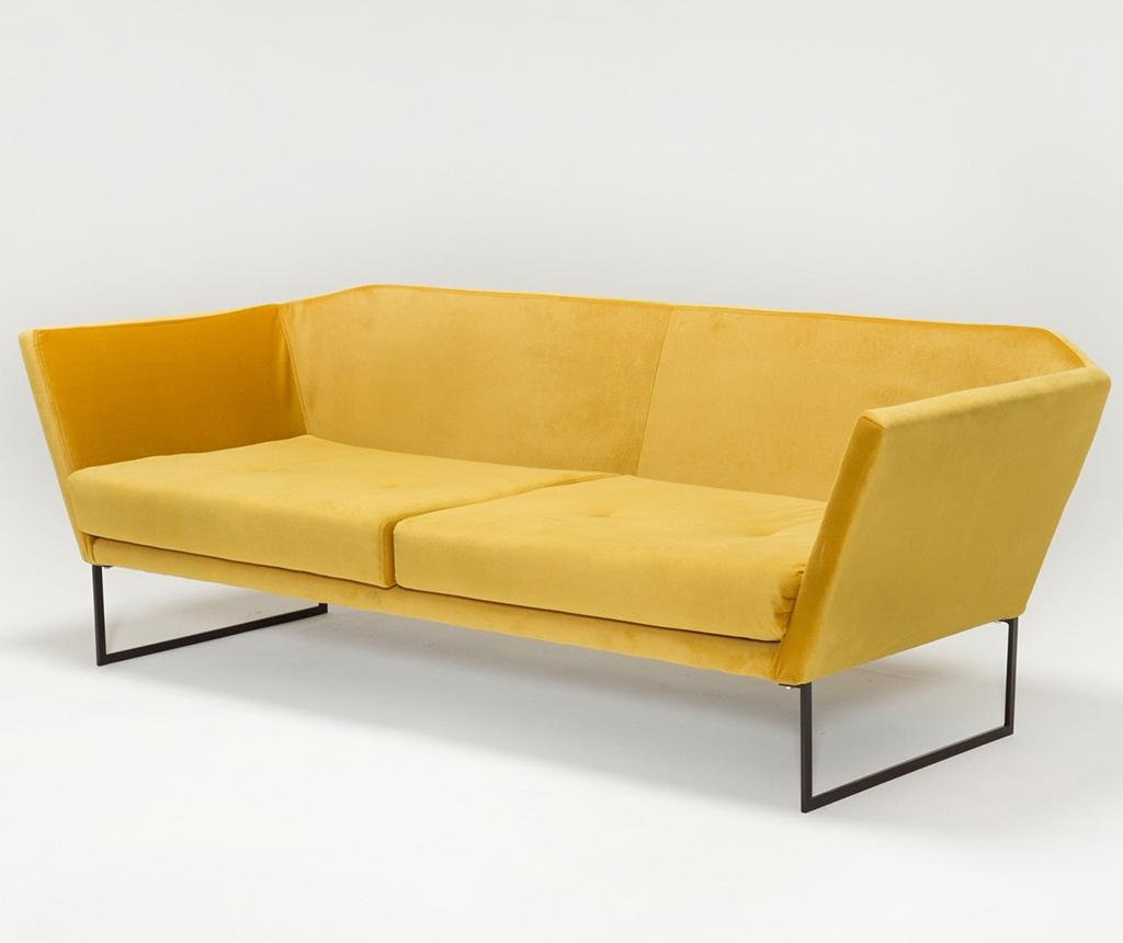 Relax Mustard Yellow Háromszemélyes kanapé