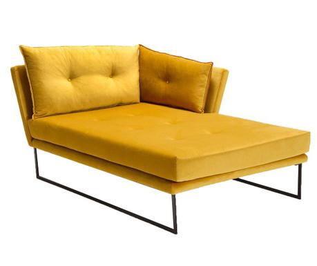 Sezlong living dreapta Relax Mustard Yellow