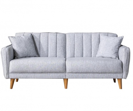 Canapea 3 locuri Tiffany Grey