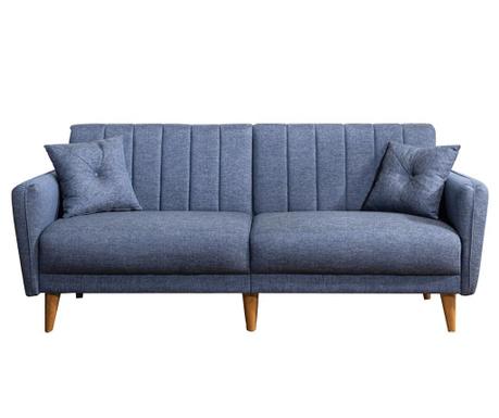 Canapea 3 locuri Tiffany Dark Blue