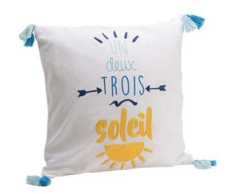 Perna decorativa Un Deux Trois Soleil 40x40 cm