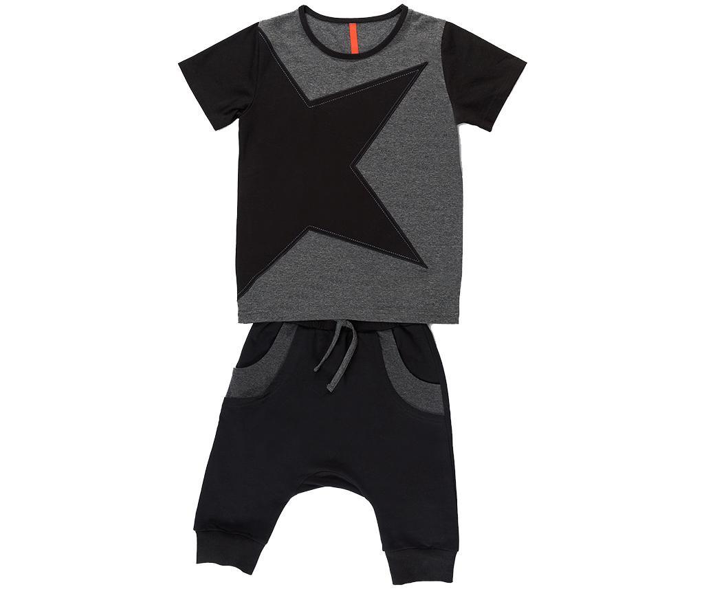 Set tricou si pantaloni copii Gray Star Baggy 4 ani