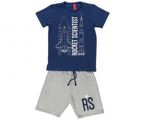 Sada detské tričko a krátke nohavice Rocket Science