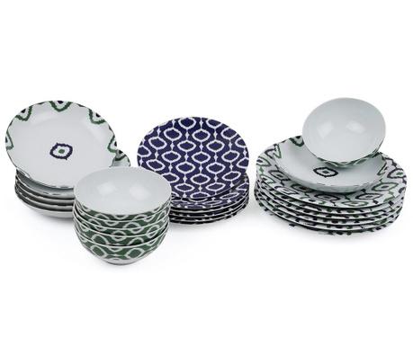 Set de masa 24 piese Oriental Circles Duo
