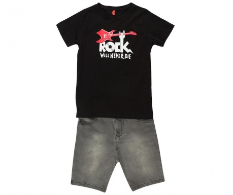 Rock Gyerek póló és rövidnadrág