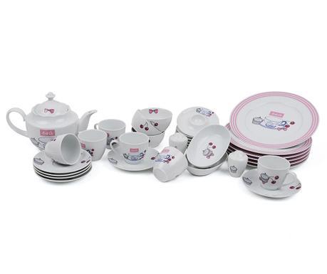 Set mic dejun 32 piese Cupcake Dream