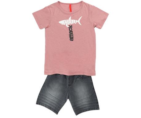Sada tričko a krátké kalhoty pro děti Shark