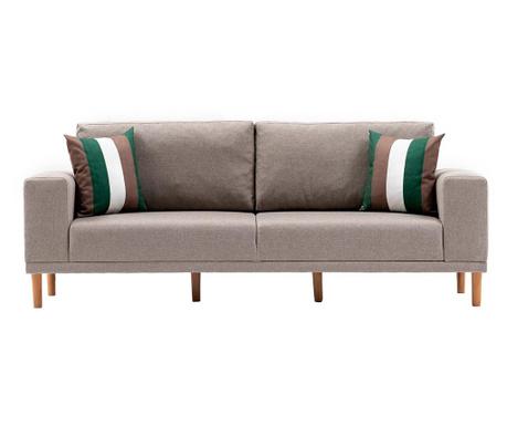 Canapea 3 locuri Franz Cream