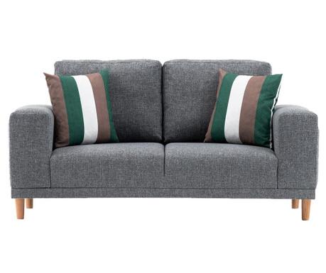 Canapea 2 locuri Franz Grey