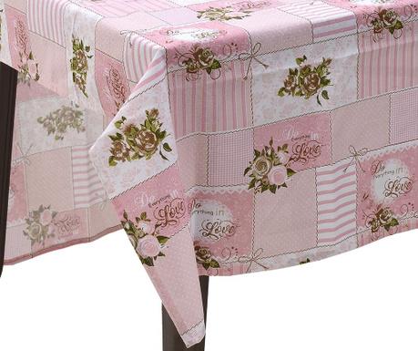 Fata de masa Adon Pink 110x180 cm