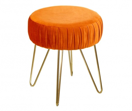 Scaunel Victoria Velvet Orange