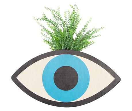 Vaza suspendabila cu planta artificiala Blue Eye