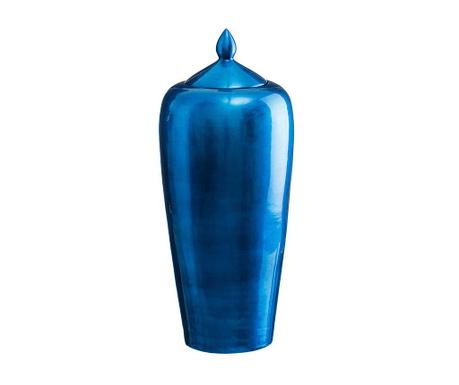 Vas decorativ cu capac Duchess Blue