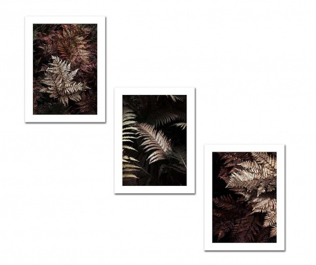 Set 3 tablouri Rainy 30x40 cm