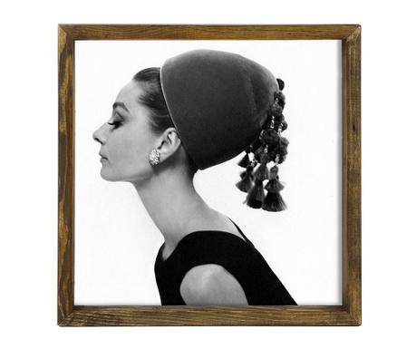 Tablou Femme 34x34 cm