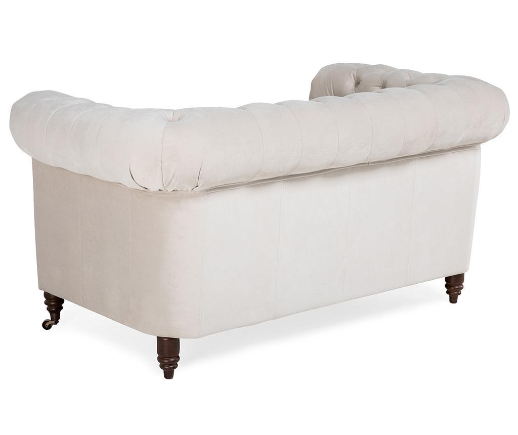 Kauč dvosjed Chesterfield Beige