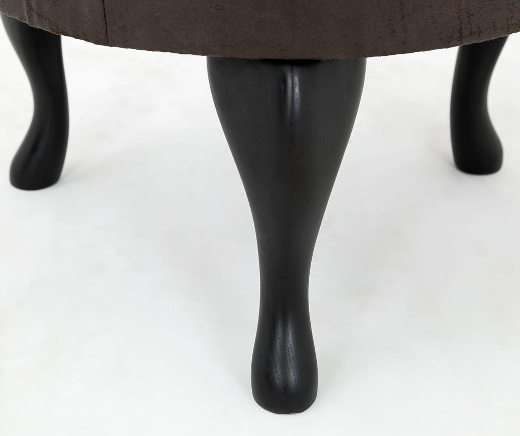 Taburet pentru picioare diYana Vintage Brown