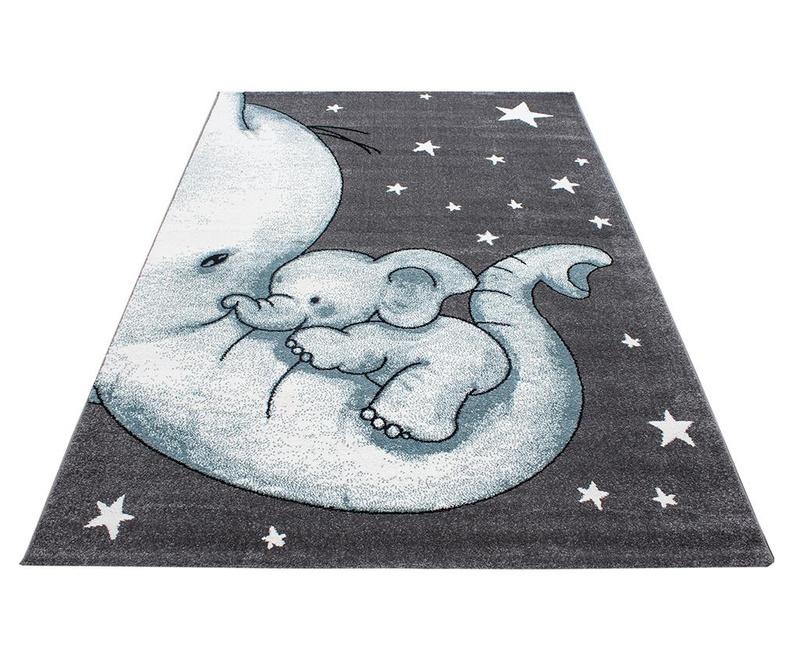 Koberec Baby Elephant Blue 120x170 cm