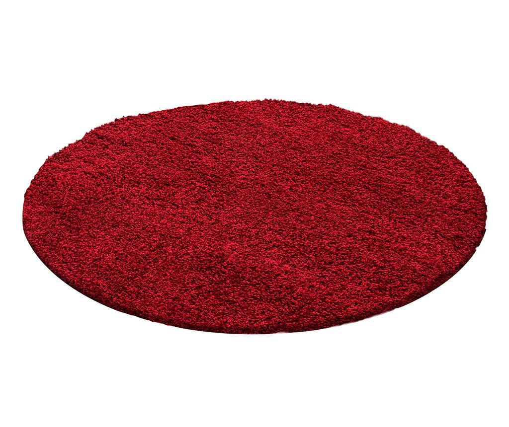 Covor Life Round Red 160 cm