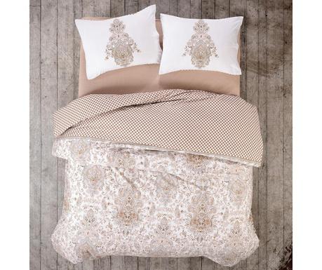 Спално бельо King Ranforce Tamara Beige