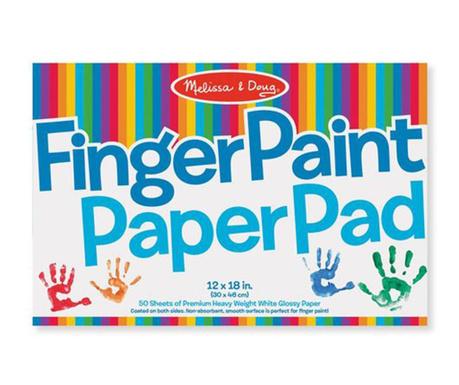 Блок за рисуване с пръсти Paint