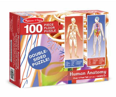 Пъзел 100 части Human Body