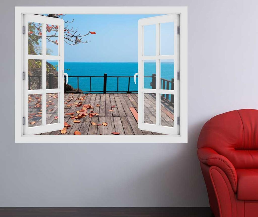 Window Ocean Terrace 3D Matrica