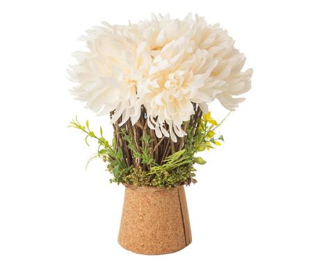 Lonček z umetnim cvetjem Martina