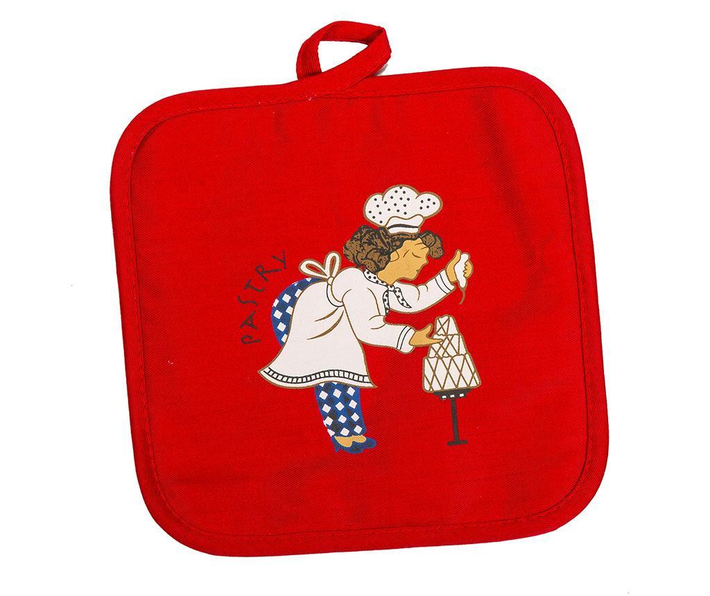 Set - kuhinjski predpasnik, kuhinjska rokavica, držalo za vročo posodo in košara Maxwell