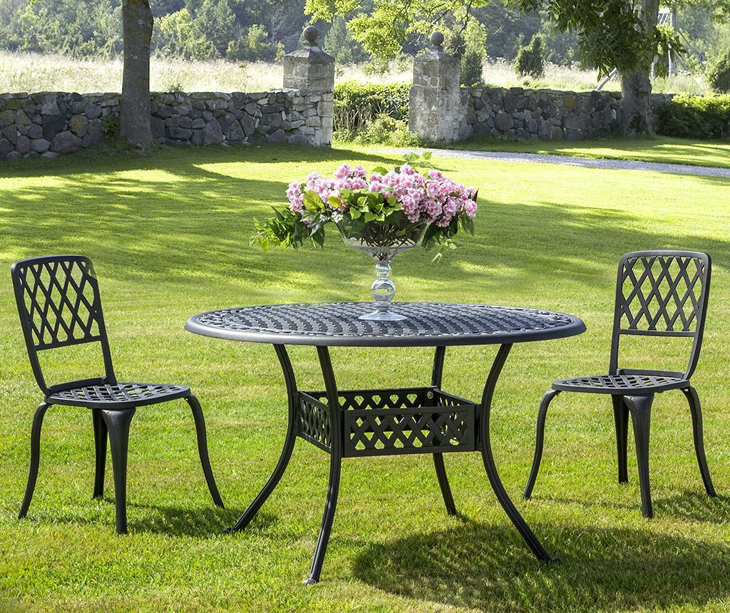Masa pentru exterior Ivrea Dark Grey