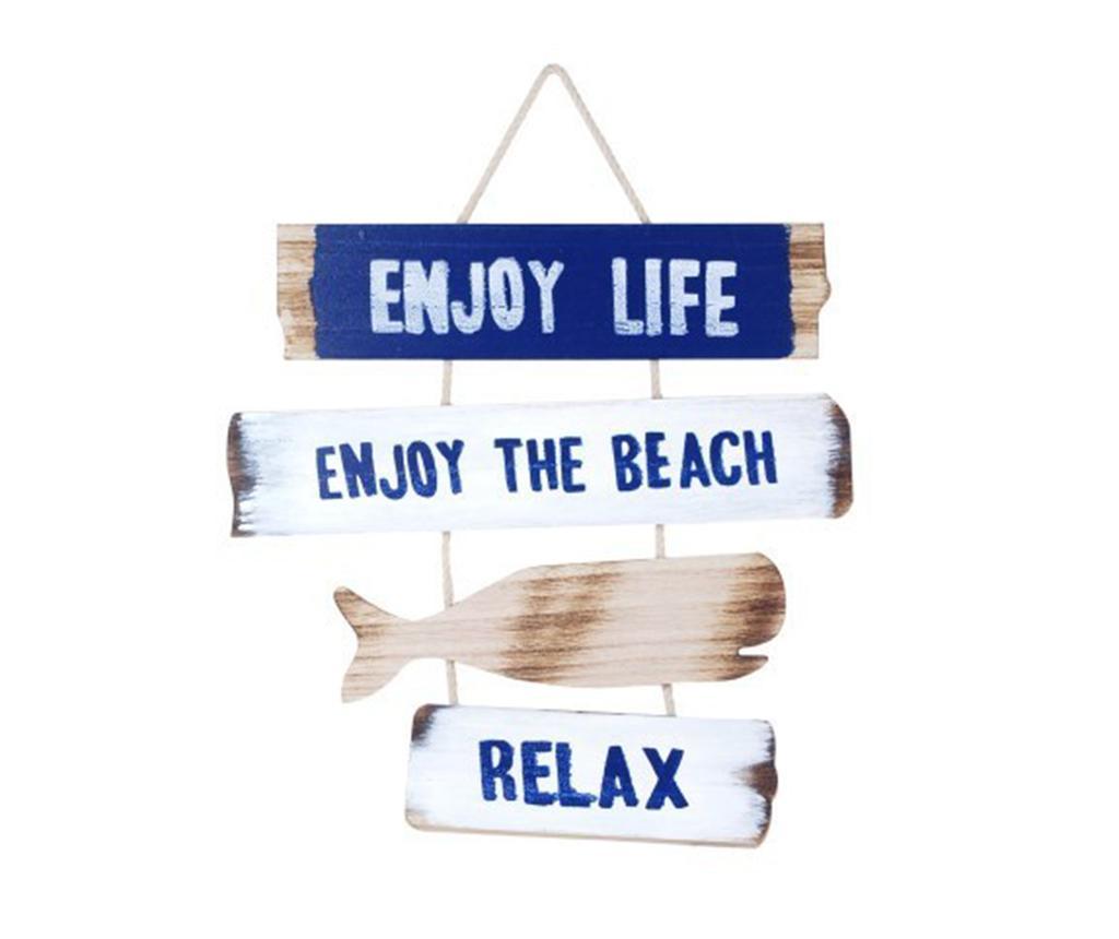 Enjoy Life Fali dekoráció