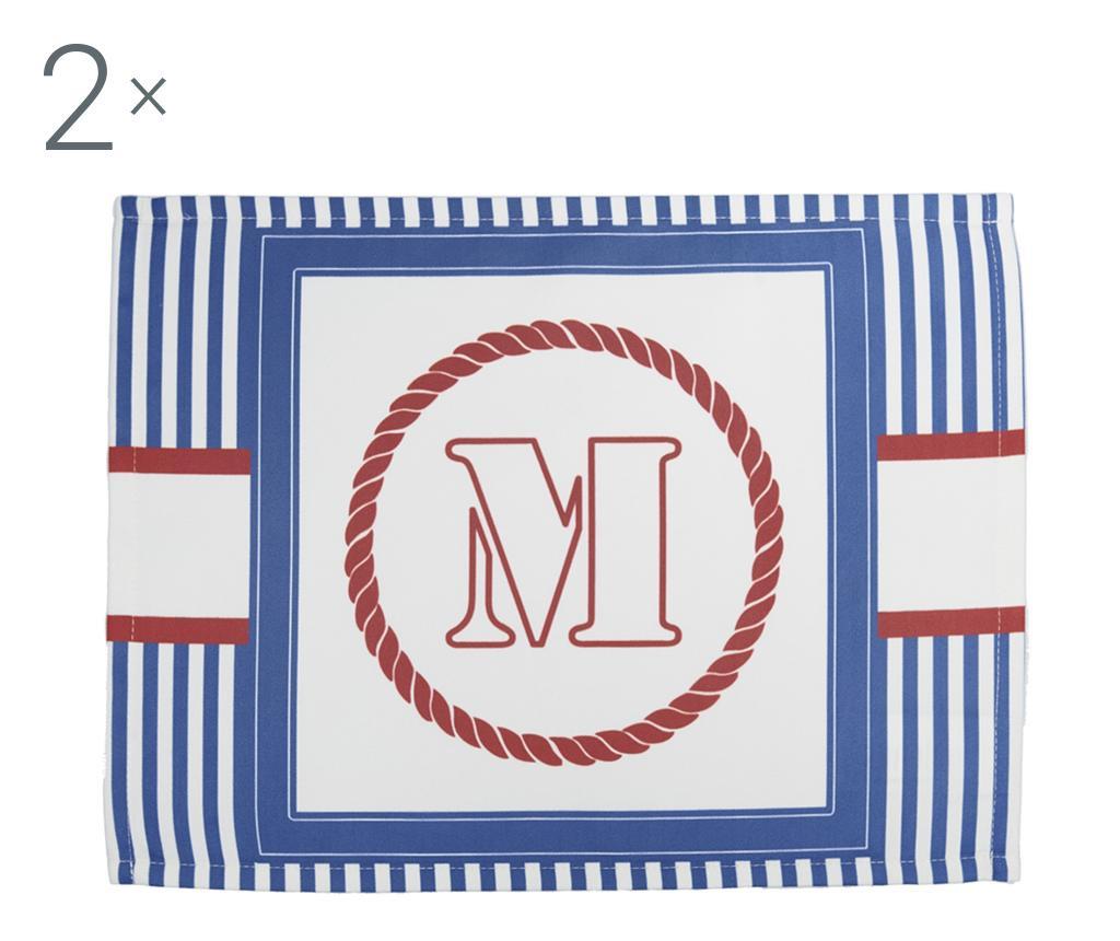 Marcus 2 db Tányéralátét 33x45 cm