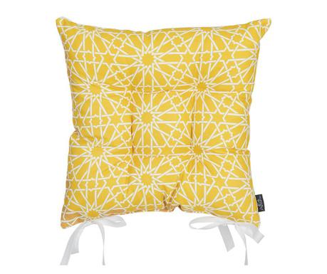 Jastuk za sjedalo Wheaton Yellow 37x37 cm