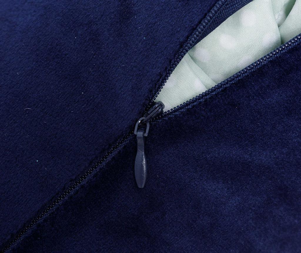 Okrasna blazina Roll Blue 15x30 cm