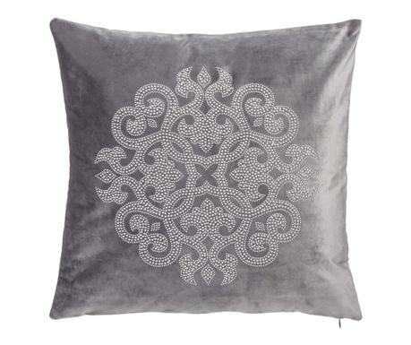 Perna decorativa Glam Rosette Grey 43x43 cm