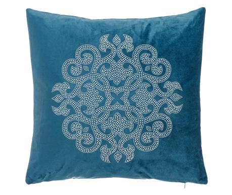 Perna decorativa Glam Rosette Blue 43x43 cm