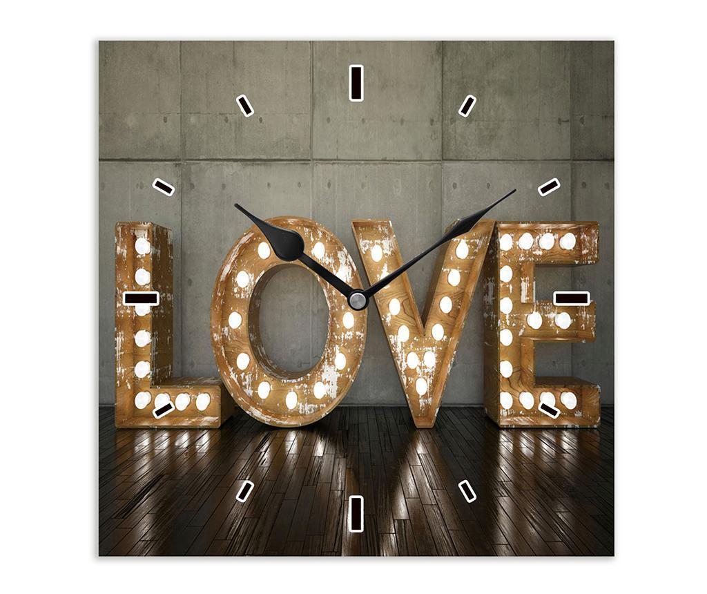 Ceas de perete Love