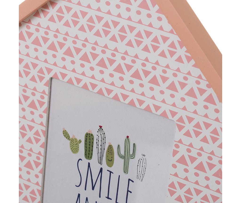 Smile and Be Happy 2 db Fényképtartó