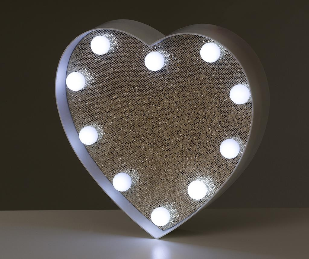 Decoratiune luminoasa Light Up my Heart