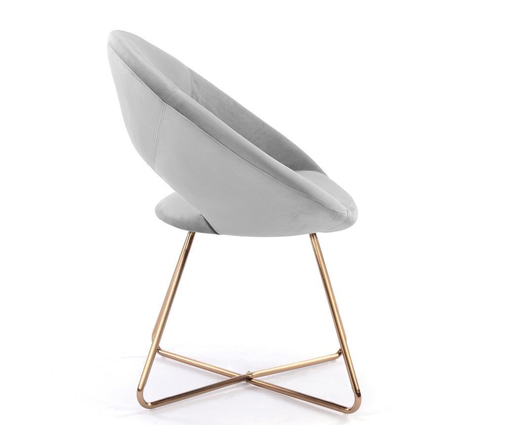 Stolica Ashley Light Grey