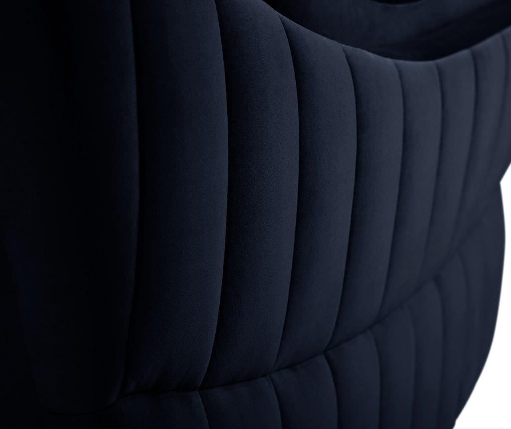 Canapea 2 locuri Elysee Navy Blue