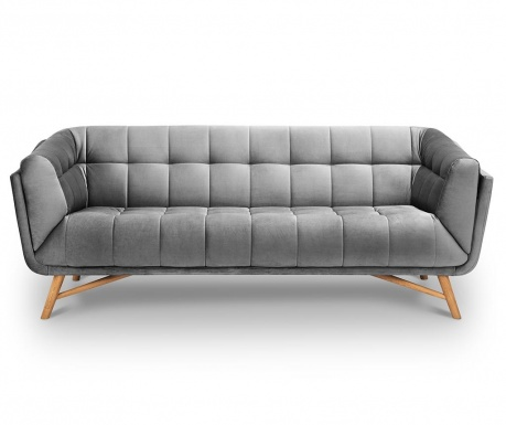 Kauč trosjed Etoile Light Grey