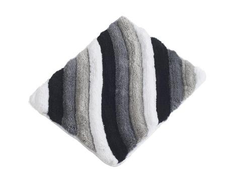 Килим за баня Wavy Grey 50x60 см