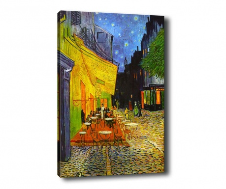 Tablou Terrace at Night 100x140 cm