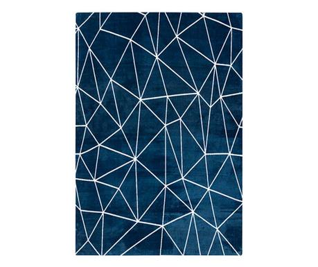 Stripes Pattern Blue Szőnyeg 160x230 cm