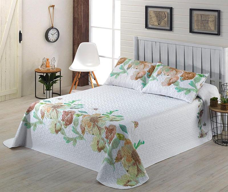 Set s posteljnim pregrinjalom Single Mia Beige
